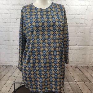 NWT XL Zara Man's loose long sleeve casual shirt